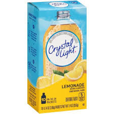 Crystal Light Case Amazon Com Crystal Light On The Go Lemonade Drink Mix 10