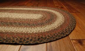 russet braided rug by green world homee