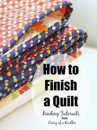 How to Finish and Bind a Quilt - Diary of a Quilter - a quilt blog & how-to-finish-a-quilt-binding-tutorials Adamdwight.com