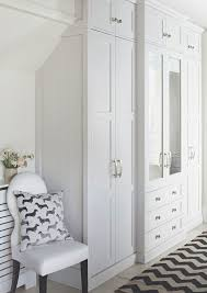 seen here in white this shaker style in frame fitted wardrobe d from 5 000 from john lewis of hungerford blends beautifully into the bedroom