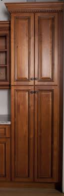 Maple Pantry Cabinet Kitchen Room Design Custom Of Brown Maple Large Tall Kitchen