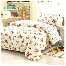 bedding sets animal print twin size bedding for boy white chic animal print kids twin