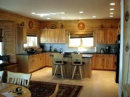 kitchen ceiling recessed lighting layout kitchen