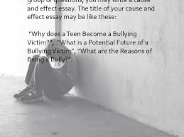 bullying essay