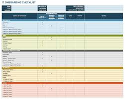 Hr Onboarding Flow Chart Free Onboarding Checklists And Templates Smartsheet