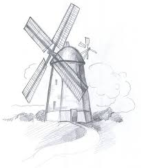how to draw a windmill 8 steps with pictures wikihow