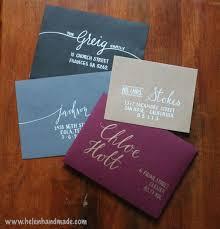 Envelope Wedding Custom Hand Addressed Envelopes Wedding Party Invitation