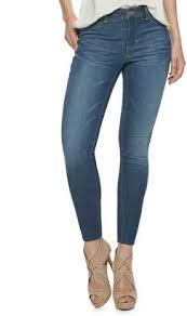 Kohls Womens Jeans Size Chart Jlo By Jennifer Lopez Womens Skinny Jeans Shopstyle
