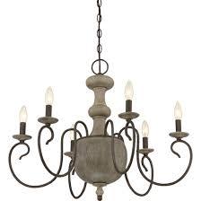 one allium way annis 6 light candlestyle chandelier