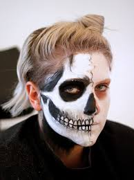 how to create realistic skull makeup