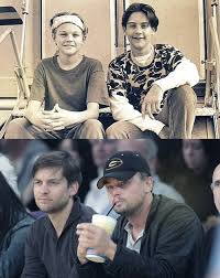 leonardo dicaprio parenthood. Contemporary Parenthood Leonardo DiCaprio And Tobey Maguire First Met Auditioning For The TV  Spinoff Of  In Dicaprio Parenthood