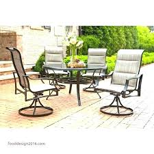 bay dining set oak cliff collection outdoor luxury 7 piece hampton capri lovely home depot patio table di
