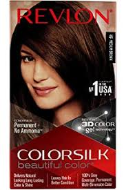 Medium Brown Hair Colour Chart Buy Revlon Colorsilk Hair Color 4n Medium Brown Online At