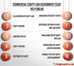 commercial equity law assignment help for law students commercial equity law assignment essay help online
