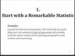good introduction to an essay example co good introduction