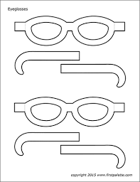 The direction of the picture can make or break your layout. Eyeglasses Templates Free Printable Templates Coloring Pages Firstpalette Com