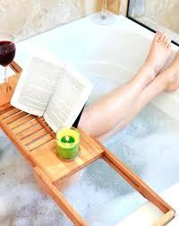 bathtub caddy ikea bathroom tray plans wooden bath within idea 15