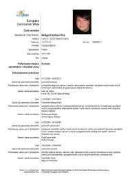 cv template r a resume writing resume examples cv template r a cv templates and guidelines europass curriculum vitae format doc r a clasifiedad com