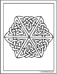 Celtic tree of life coloring page from celtic art category. 90 Celtic Coloring Pages Irish Scottish Gaelic