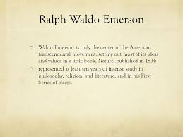 literary period transcendentalism by katelyn brook ppt video  10 ralph