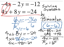 most viewed thumbnail solving system of equations by elimination