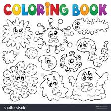 Small Picture Coloring Pages Pretty Germs Coloring Pages Kid Color Sick Day 4