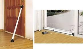 sliding door security bar. Image Is Loading Sliding-Door-Security-Bar-Patio-Dual-Function-Hinged- Sliding Door Security Bar T