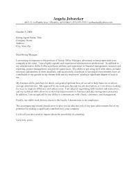Cover Letter Sample Internship Journalism