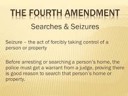 chapter the bill of rights ppt video online the fourth amendment searches seizures