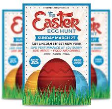 Easter Egg Hunt Flyer Template Flyertemplatestore
