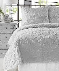 bed linen light grey bedspread grey
