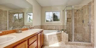 built in tub