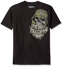 Metal Mulisha Mens Plus Size Jaw Tee