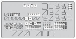 toyota tundra second generation mk2 (from 2013) fuse box diagram 2007 toyota tundra kick panel fuse diagram at Fuse Box Toyota Tundra 2007