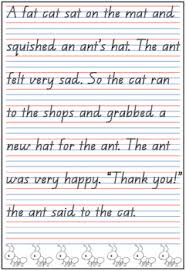 Penmanship Practice Sheet Qld Beginners Font Handwriting Practice Sheets Freebie