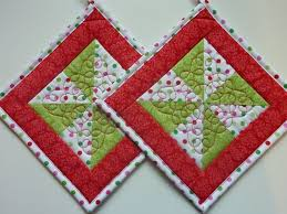 Best 25+ Quilted potholders ideas on Pinterest | Quilting ... & free quilted potholder patterns - Google Search Adamdwight.com