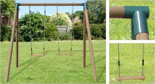 oregon garden swing set wooden swing with two seats