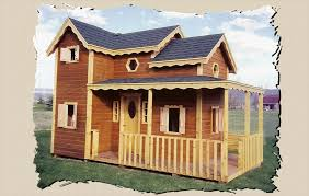wooden playhouse country cottage