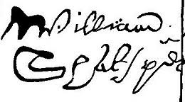 playing fast and loose shakespeare s how did shakespeare s signature on the deed of of a house in blackfriars london 1613