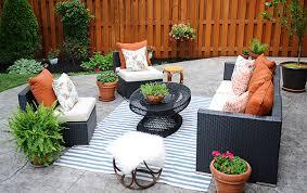 patio furniture decorating ideas. Patio-decorating-ideas-a-modern-chic-refresh-homey- Patio Furniture Decorating Ideas R