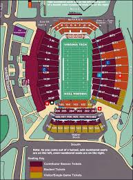 Syracuse Football Stadium Seating Chart Clemson Auburn