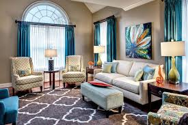moroccan quatrefoil living room transitional with window treatments contemporary outdoor wall art