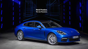 porsche new car releaseWorld premiere of the new Panamera