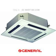 General Air Conditioners O General Cassette Type 3 Ton Air Conditioner Price In
