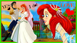 Small Picture Princess Ariel Princ Eric The Little Mermaid Wedding Video