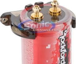 rockford fosgate 1 2 farad punch performance series car capacitor zoom