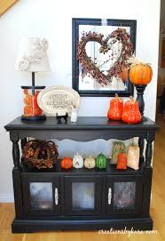 Console Decor Ideas Entryway Table Decor Fall Home Decor Creations By Kara Table