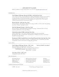 Massage Therapist Sample Resume Massage Therapist Resume Template ...