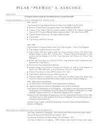 Yoga Instructor Resume 250413 Data Analyst Job Description Resume