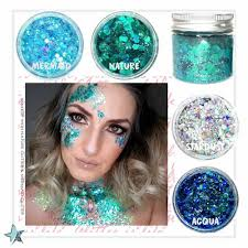 details about festival makeup holographic chunky glitter nail face body glitter mixed glitter